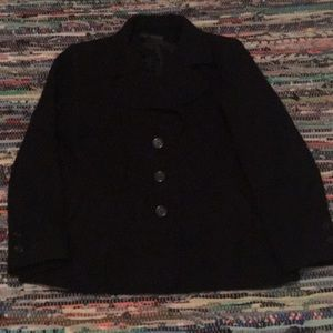 Harve benard wool coat size xl